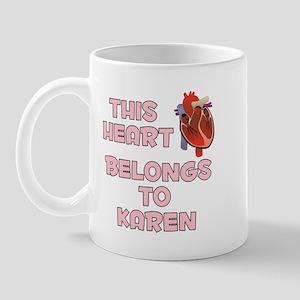 This Heart: Karen (C) Mug