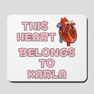 This Heart: Karla (C) Mousepad