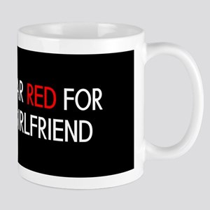 Red Ribbon: Red for my Girlfriend Mug