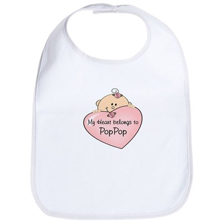 Heart Belongs to PopPop Bib