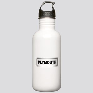 Plymouth City Nameplat Stainless Water Bottle 1.0L