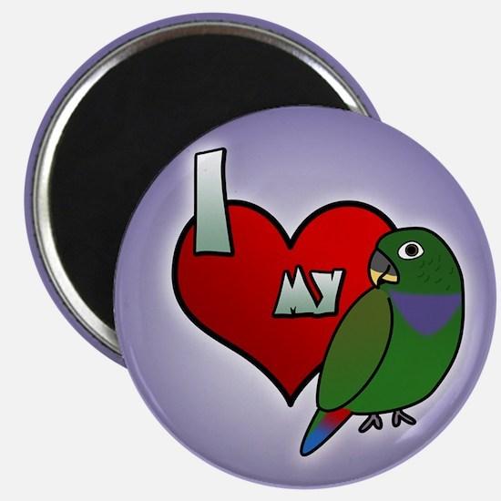 Love Maximilian Pionus Magnet