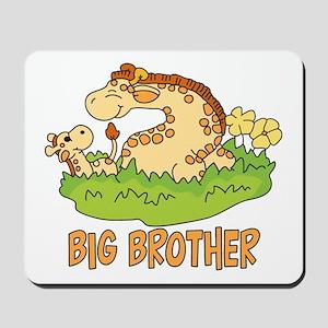 Two Giraffes Big Brother Mousepad