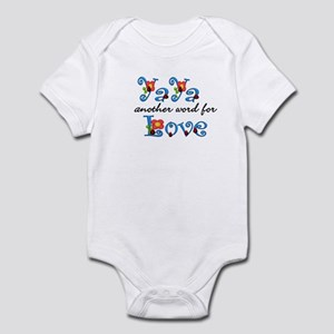YaYa  Love  Infant Bodysuit