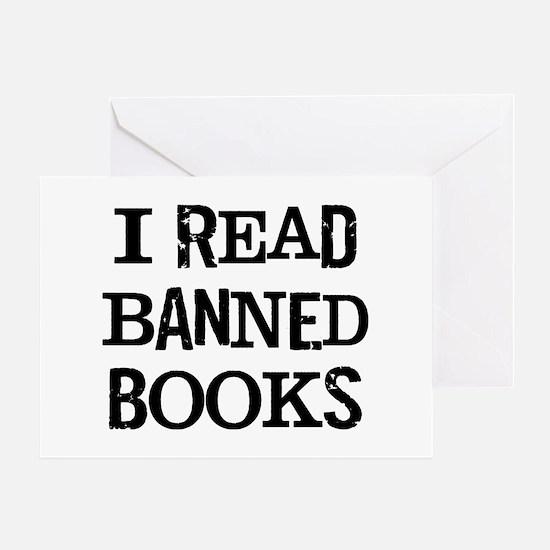I Banned Books Greeting Card