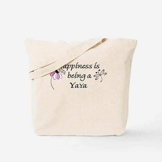 Happiness Is YaYa Tote Bag