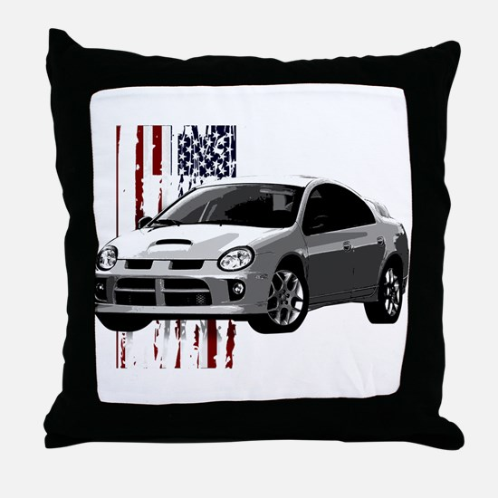 """U.S. Neon"" Throw Pillow"
