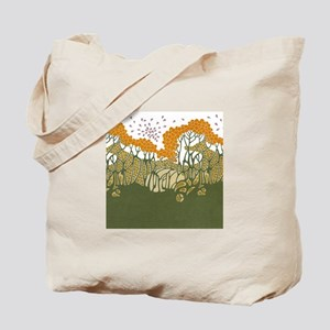 Arts and Crafts Trees Tote Bag