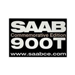 Saab Commemorative Edition 3x2 Rectangle Magnet