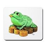 Fortune Frog Mousepad