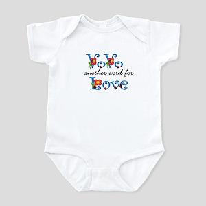 VoVo  Love  Infant Bodysuit