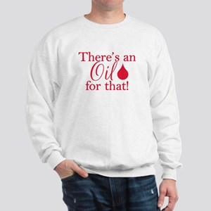 Oil for that red Sweatshirt