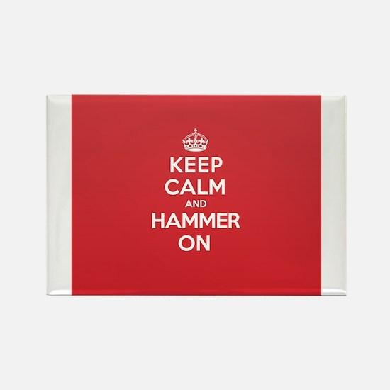 Keep Calm Hammer Magnets