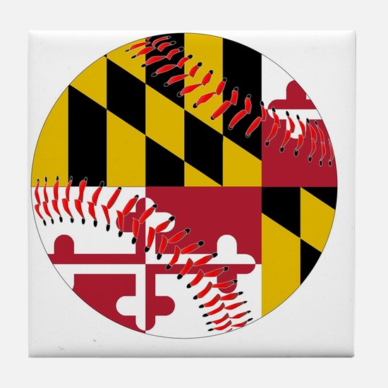 Cute Ball state cardinals Tile Coaster