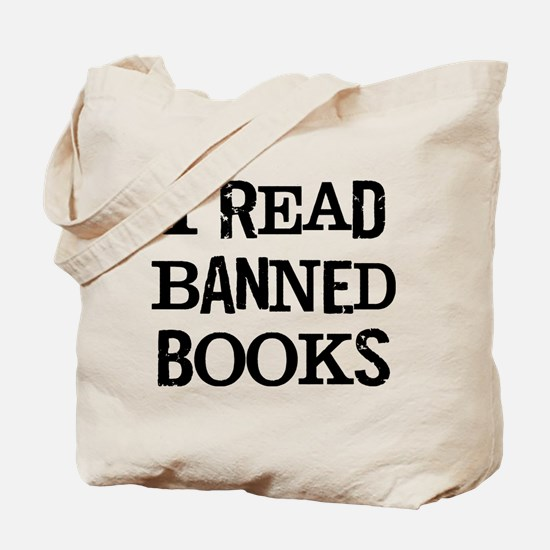 I Banned Books Tote Bag