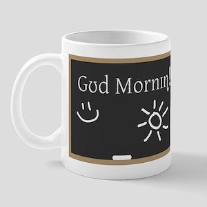 Phonetic Good Morning Mug
