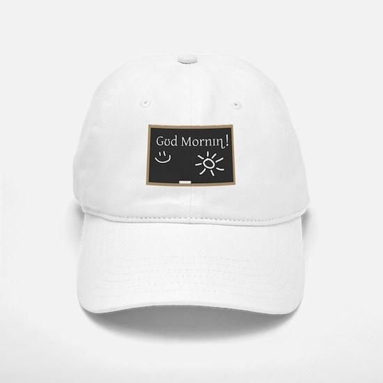 Phonetic Good Morning Baseball Baseball Cap