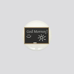 Phonetic Good Morning Mini Button