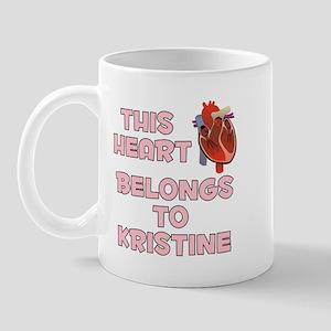 This Heart: Kristine (C) Mug