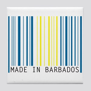 made in barbados Tile Coaster