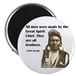 Brotherhood Quote Magnet