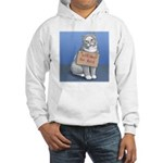 Will Sleep for Food Hooded Sweatshirt