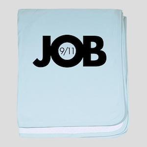 9/11 Inside Job baby blanket