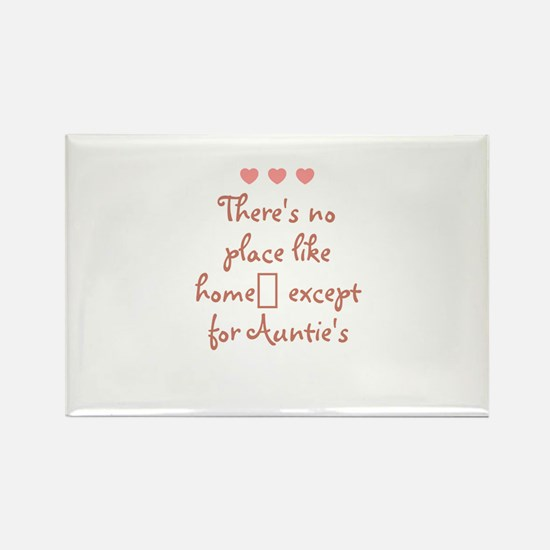 There's no place like home e Rectangle Magnet