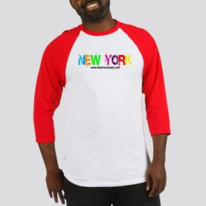 Colorful New York Baseball Jersey