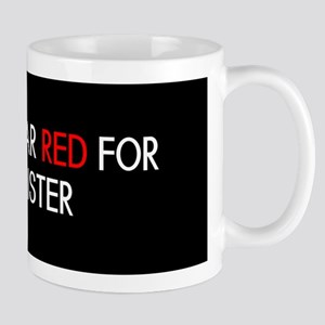 Red Ribbon: Red for my Sister Mug