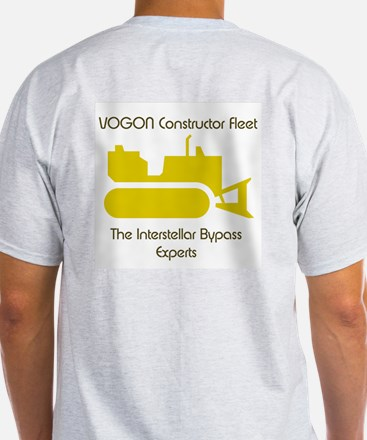 Intergalactic Guide - Vogons -  Ash Grey T-Shirt