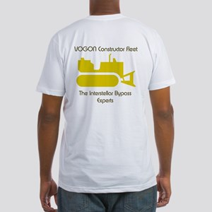 Intergalactic Guide - Vogons -  Fitted T-Shirt
