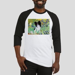 Irises & Papillon Baseball Jersey