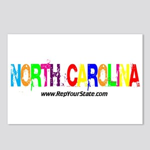 Colorful North Carolina Postcards (Package of 8)