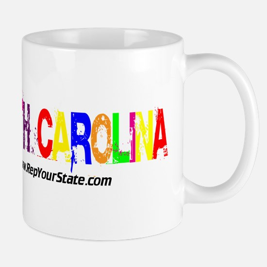 Colorful North Carolina Mug
