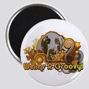 Weims R Groovy! Magnet
