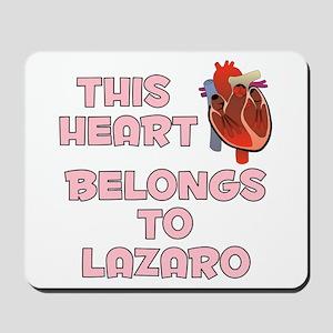 This Heart: Lazaro (C) Mousepad