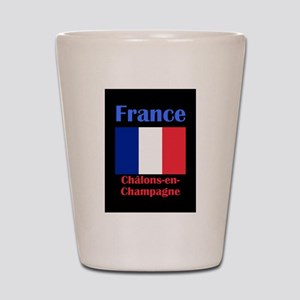 Chalons-en-Champagne France Shot Glass
