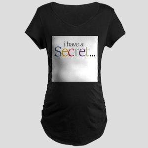 Again_Secret_Boy_Front Maternity T-Shirt