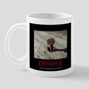 Defiance Motivational Mug