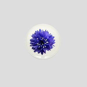 Cornflower Mini Button