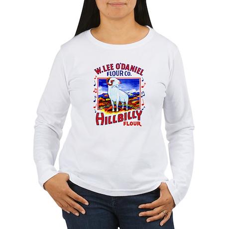 Hillbilly Flour Women's Long Sleeve T-Shirt