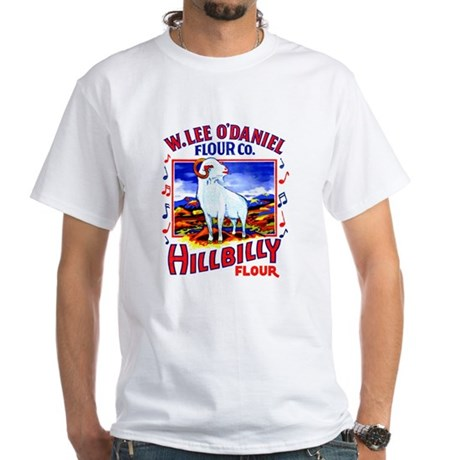 Hillbilly Flour White T-Shirt