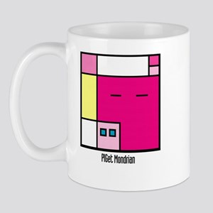 PIGet Mondrian Mug