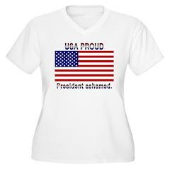 USA PROUD-President Ashamed T-Shirt
