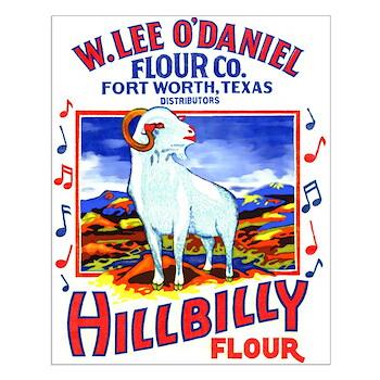 Hillbilly Flour Small Poster