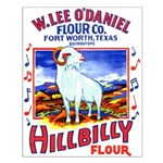 Hillbilly Flour Small Poster
