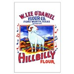 Hillbilly Flour Large Poster