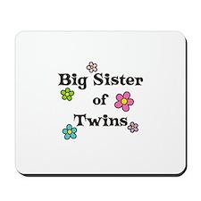 Big Sister Of Twins Mousepad