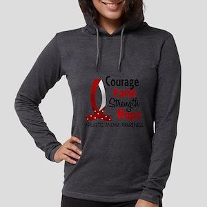 Courage Faith 1 Aplastic Anemi Long Sleeve T-Shirt